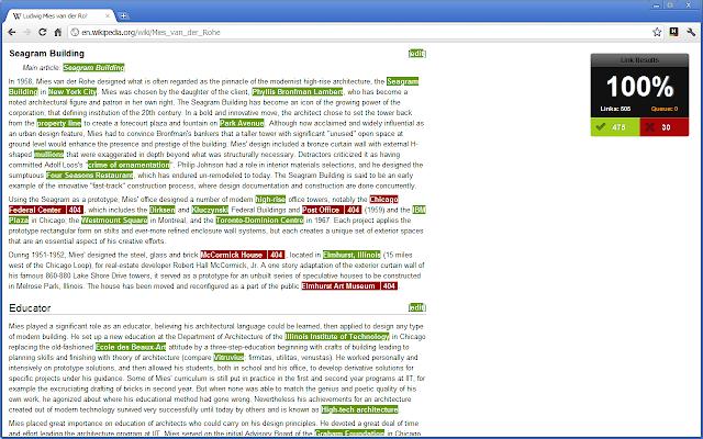 Check My Links Google Chrome Page Checking Plugin